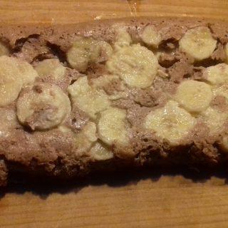 Gâteau léger bananes cacao coco