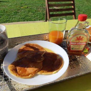 Pancakes aux petits suisses!