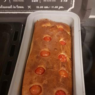 Cake au chèvre & tomates cerise 🍅🍅