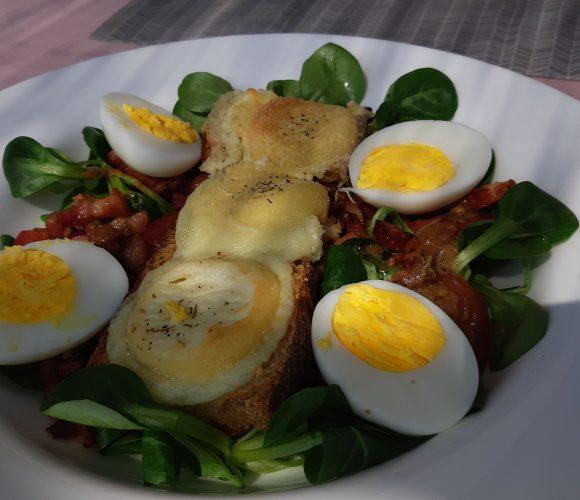 Petite salade oui mais gourmande!