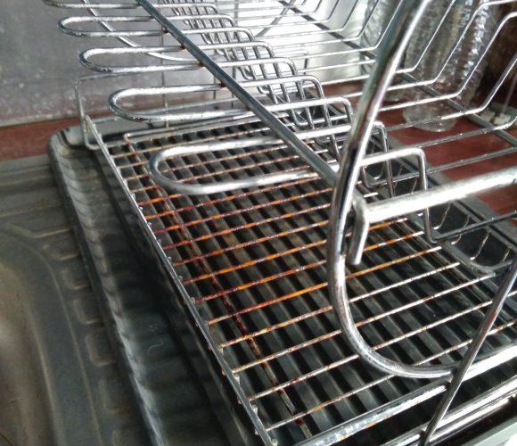J'ai testé pour vous egouttoir à vaisselle à étage 49x33x33cm marque Zeller