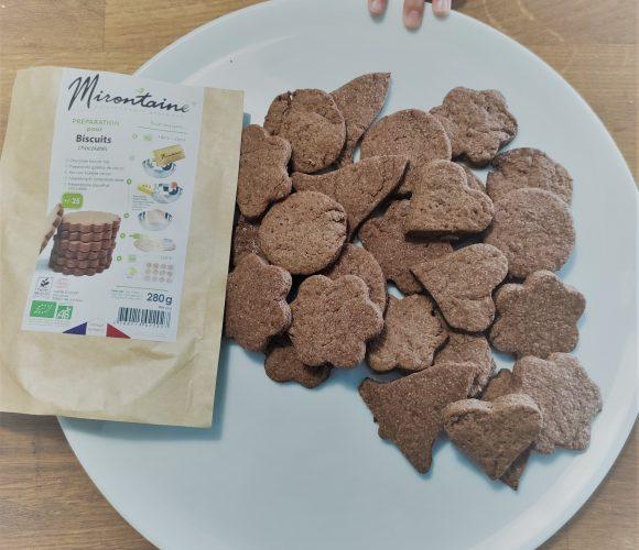 Préparation bio pour biscuits Mirontaine
