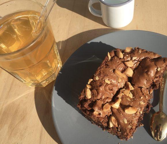 Mon brownie aux amandes !