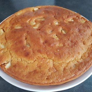 Gâteau aux pommes sans œufs
