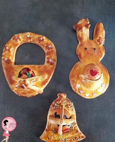 Cuddure cu l'ova – Gâteaux de Pâques siciliens