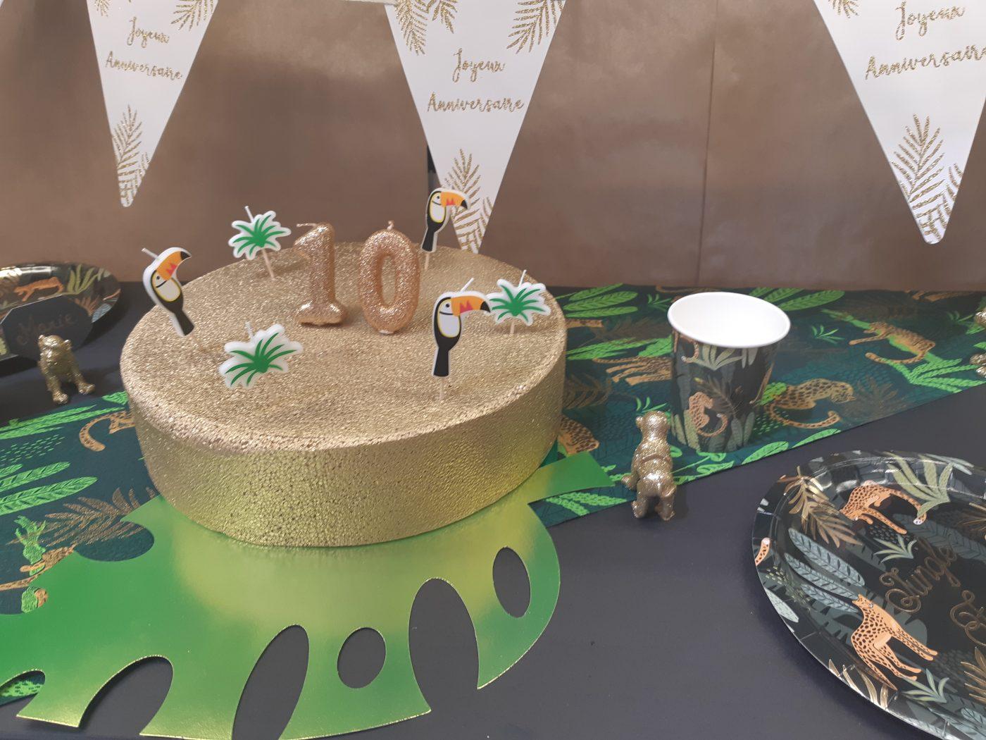 La deco jungle pour ton anniversaire!!!!!