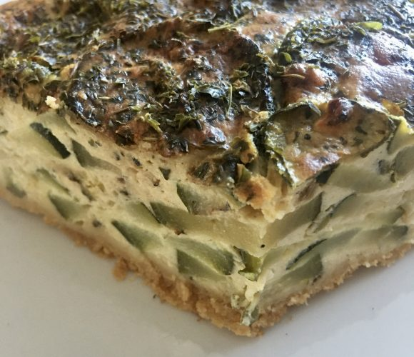 Cheese cake aux courgettes