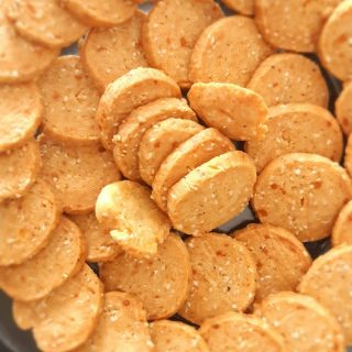 Sablés apéritifs fromage/sésame