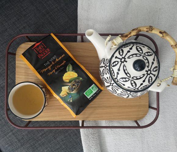 J'ai testé pour vous le thé vert mangue ananas