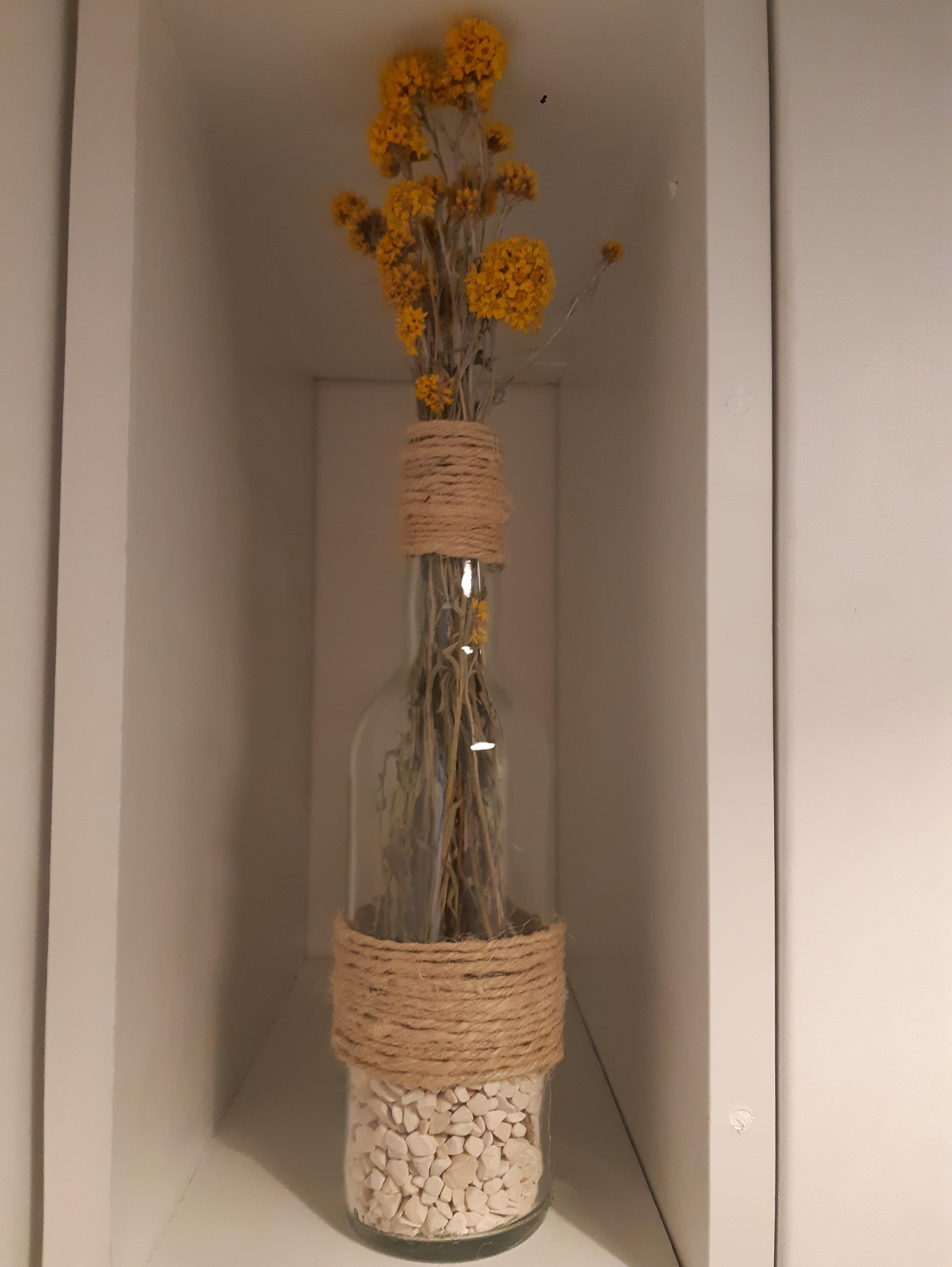 J'ai testé pour vous le bouquet de fleur séchées Lona jaune pour un beau résultat