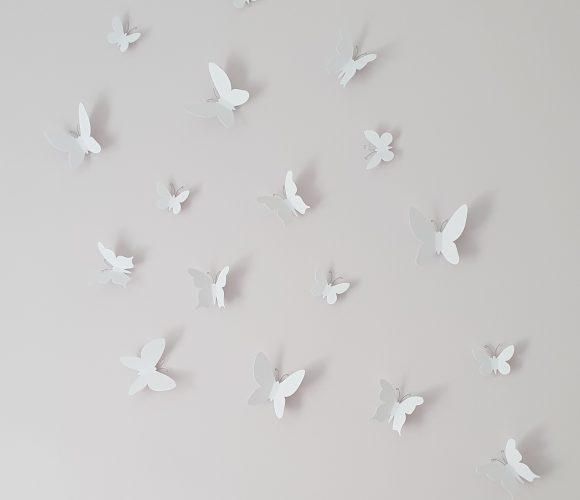 J'ai testé pour vous papillons adhésifs de Umbra