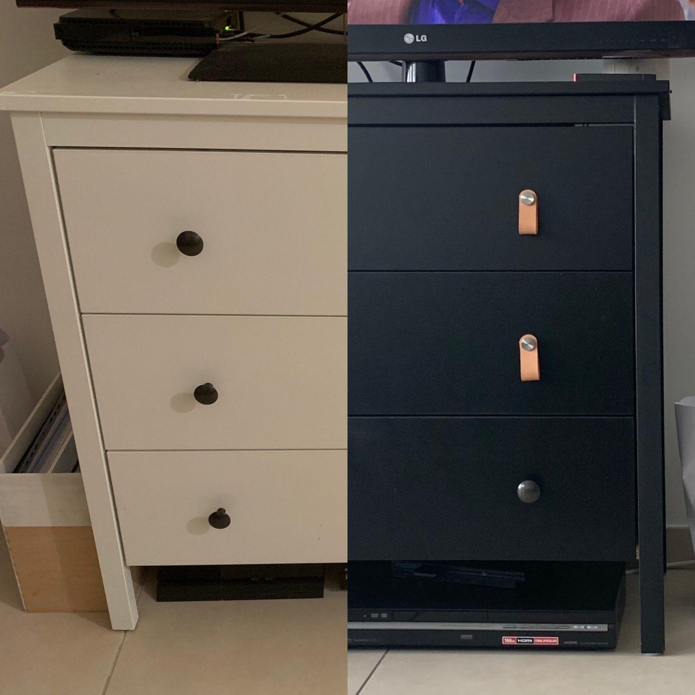 DIY - D'un meuble classique à un meuble tendance -