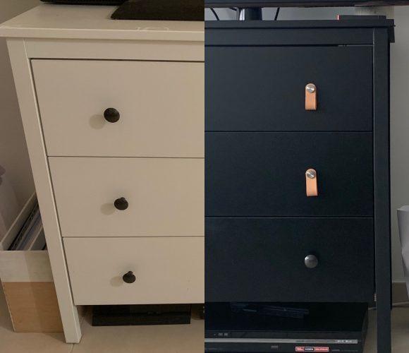 DIY – D'un meuble classique à un meuble tendance –