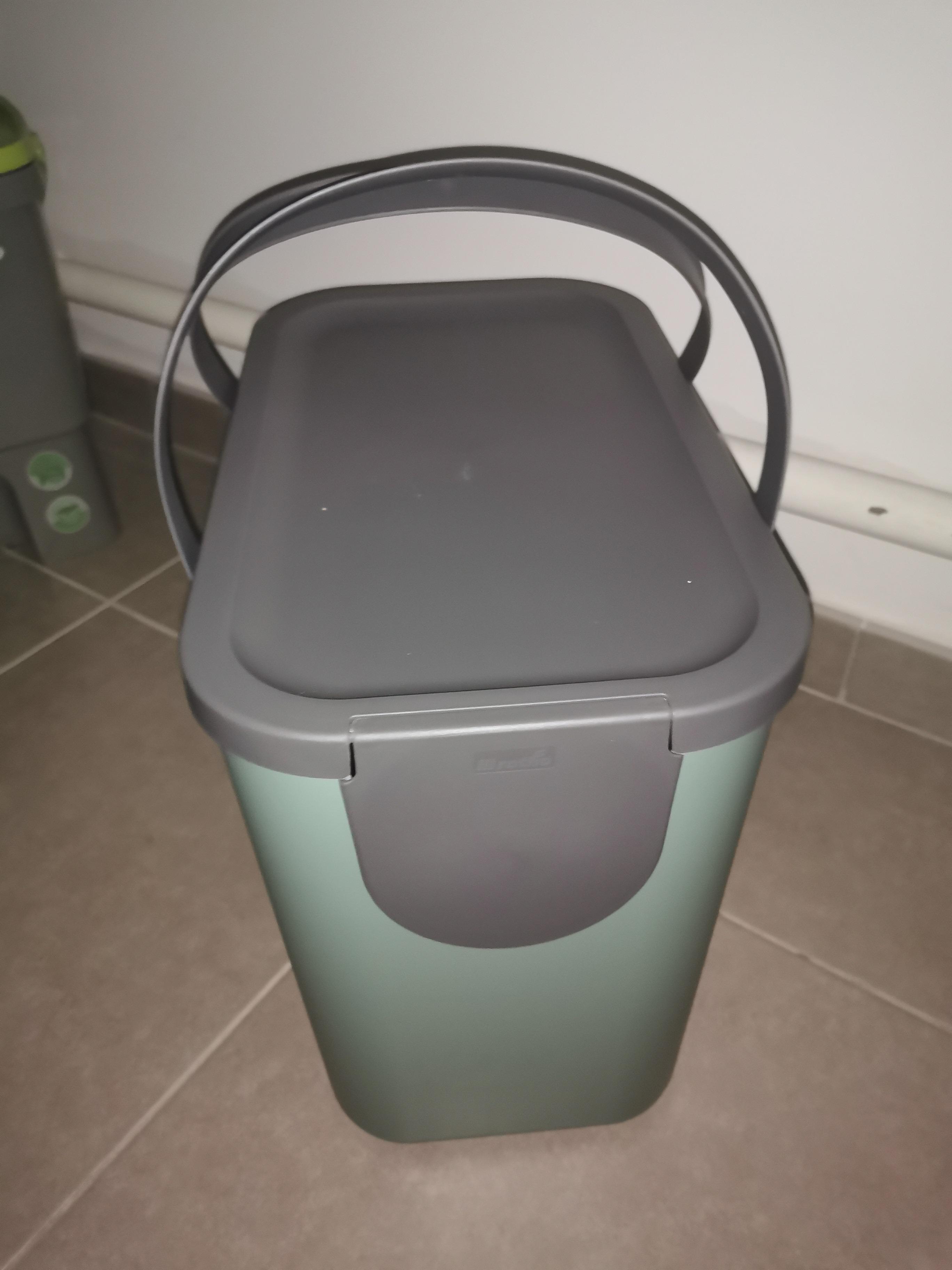 J'ai testé pour vous poubelle tri sélectif Albula 25L vert