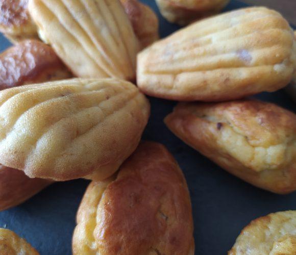 madeleines bacon chèvre
