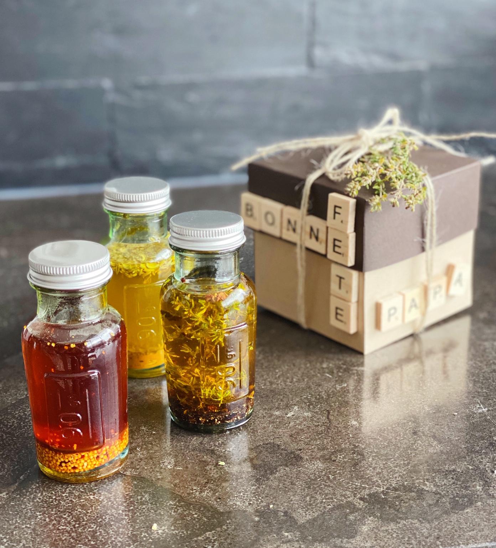 Idée cadeau Fête des pères : marinades express et leur boîte cadeau DIY !