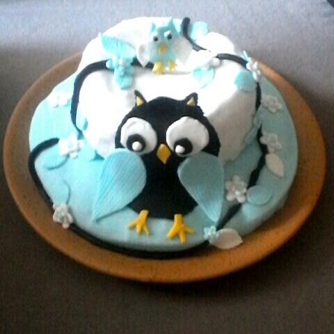 J'ai testé pour vous le cake design chouette
