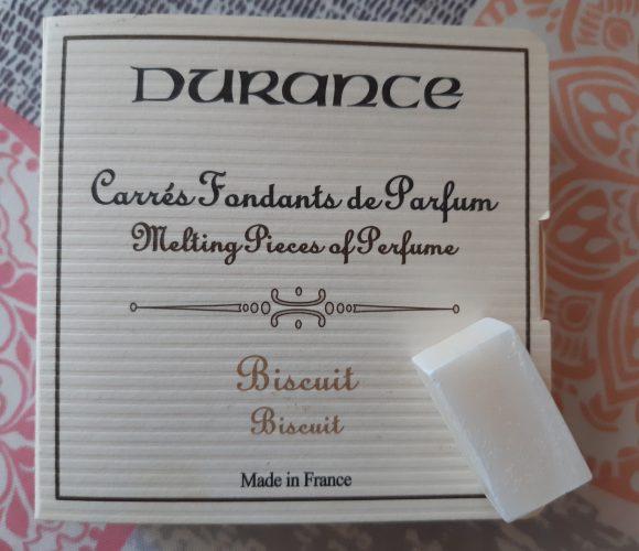 Carré fondant senteur biscuits Durance