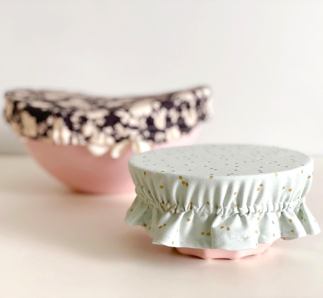 Tutoriel Apprendre à coudre des charlottes en tissu pour plat !