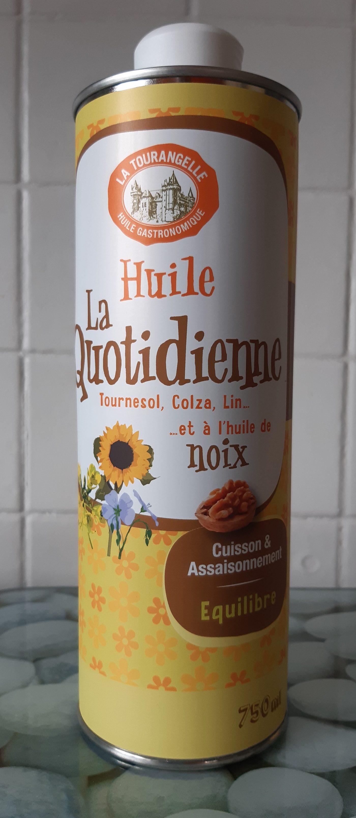 J'ai testé pour vous la Quotidienne huile de noix