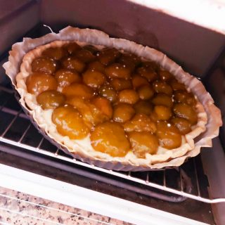 Tarte prunes pâtissières