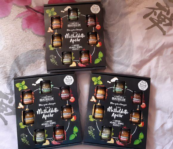7 saveurs au choix Le Comptoir de Mathilde