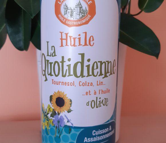 J'ai testé pour vous huile d'olive La Quotidienne  750 ml