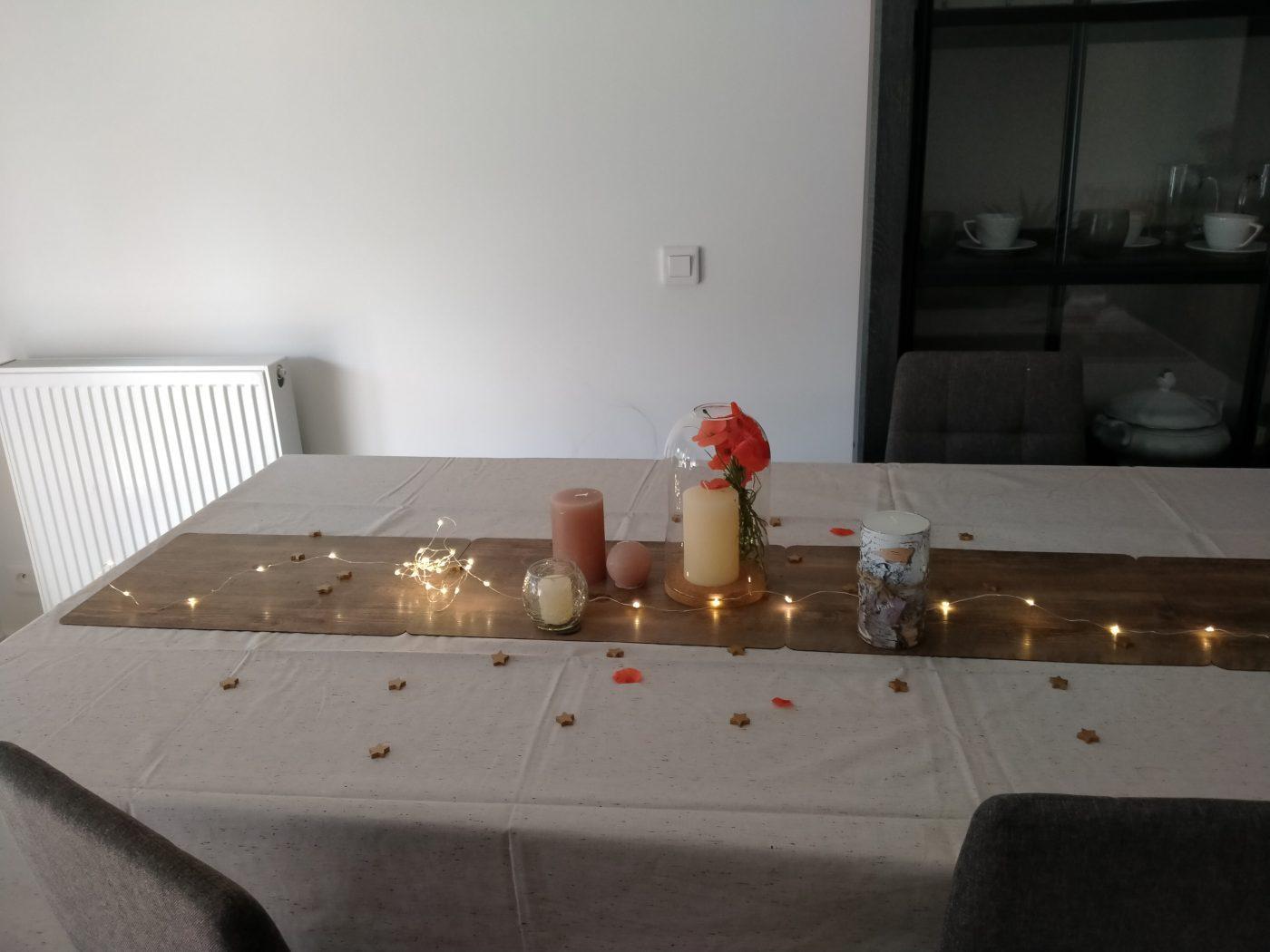 La déco que j'ai réservé pour l anniversaire de de mon mari grâce à Zodio