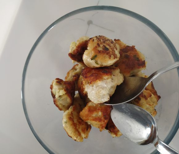 Morceau de poulet caramalérisé à la thaï