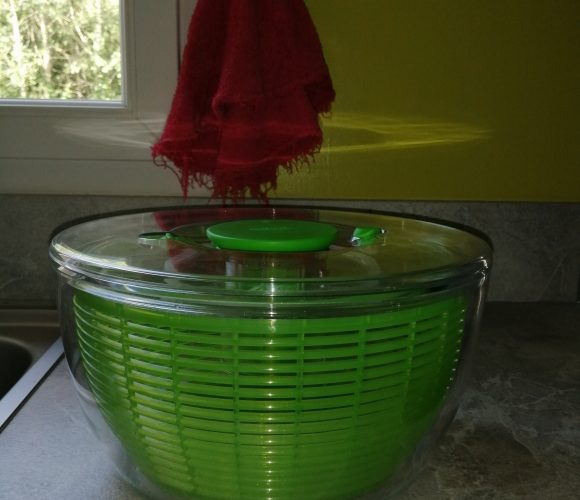 J'ai testé pour vous essoreuse à salade verte 26 cm