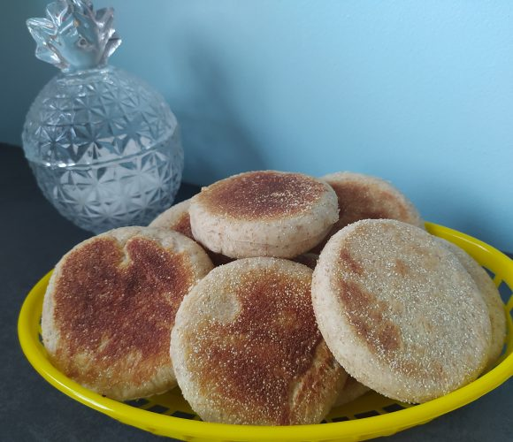 Muffins anglais complet salé
