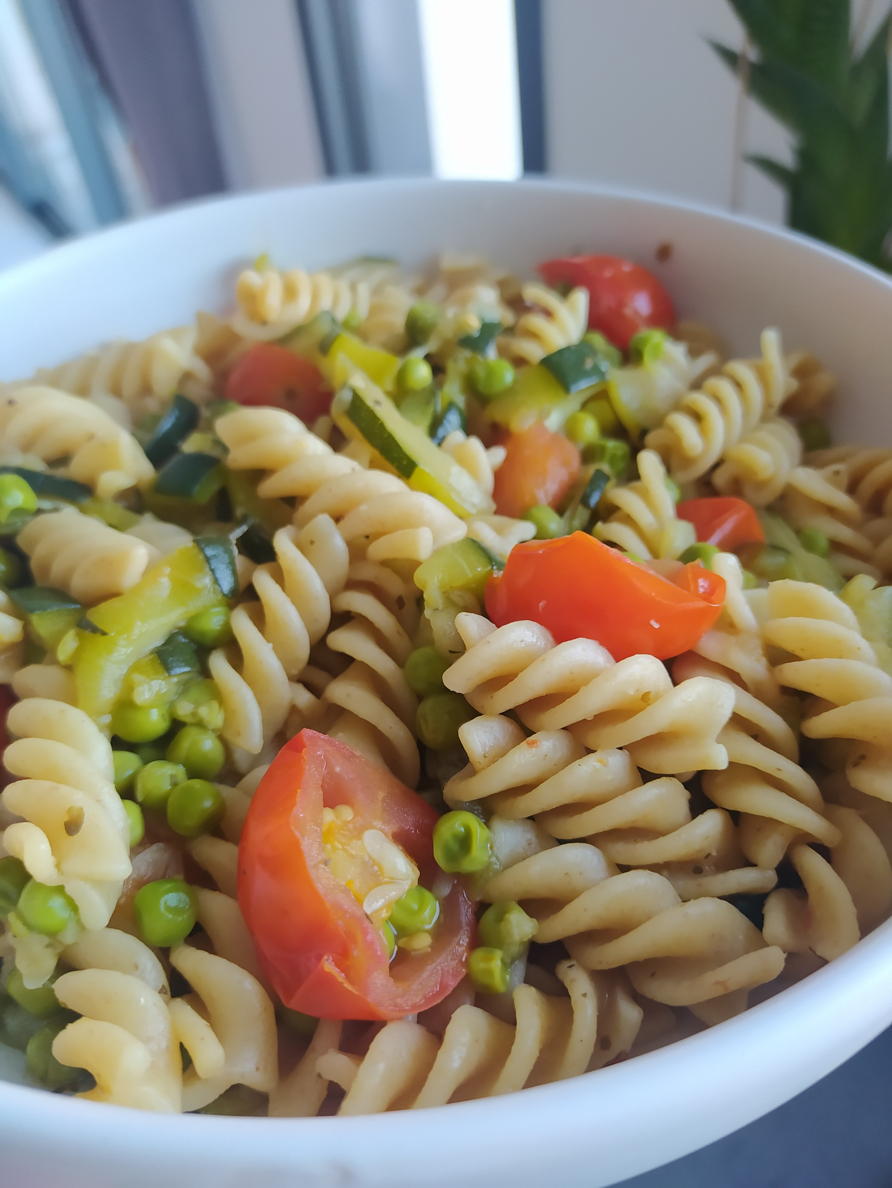 One pasta courgettes