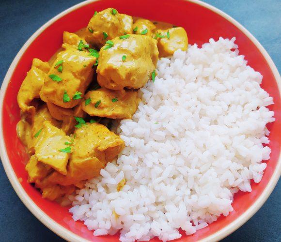 Poulet au Curry coco