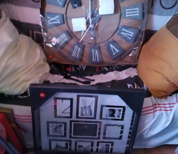 J'ai testé pour vous horloge murale geante et pèle mêle photo
