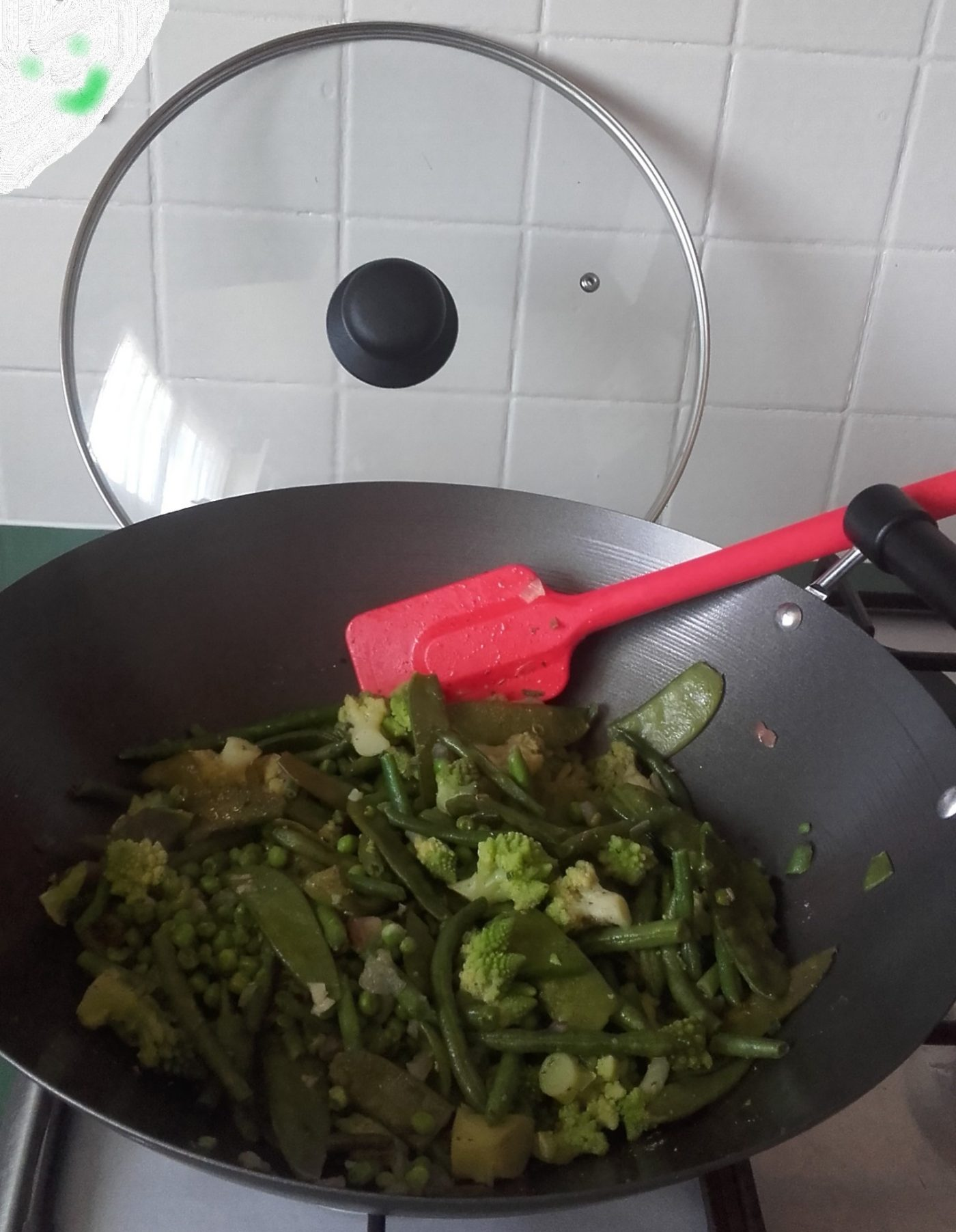 Poêlée de légumes vert 🥦