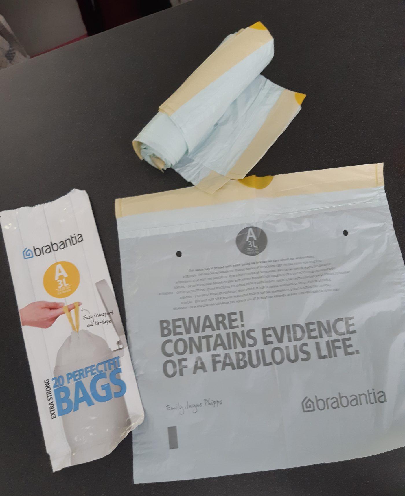J'ai testé pour vous sacs poubelles perfectfit 3 litres  Brbanatia