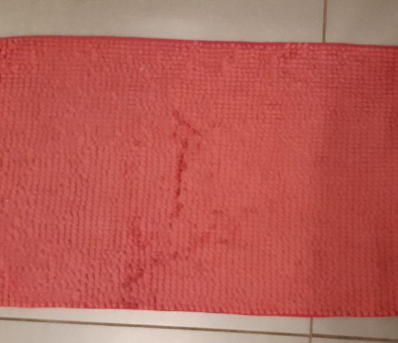 J'ai testé pour vous tapis microfibre chenille