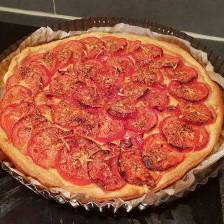 Tarte aux tomates rapide