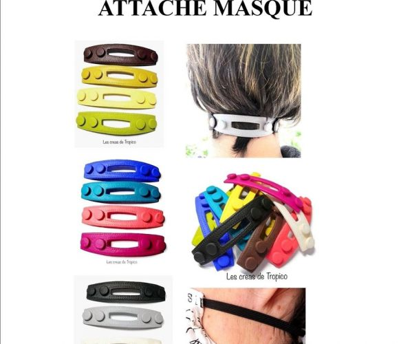 ATTACHE MASQUE FACIAL CHIRUGICAL
