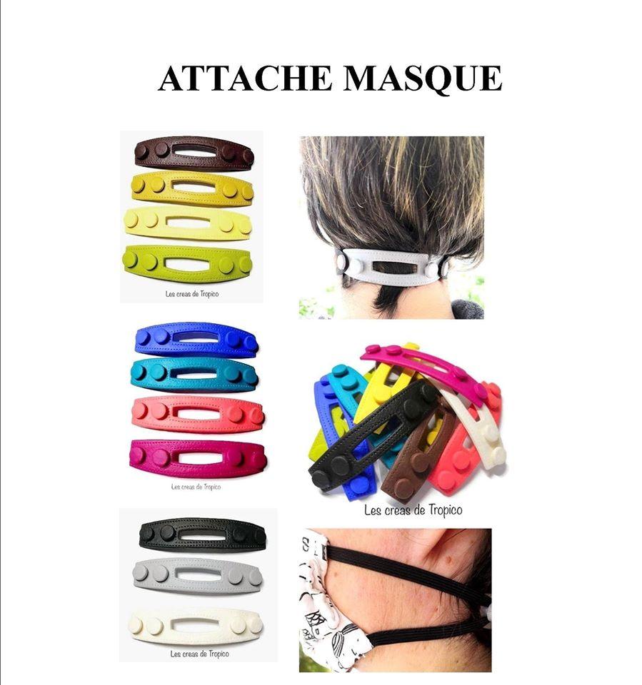 ATTACHE MASQUE FACIAL CHIRUGICAL