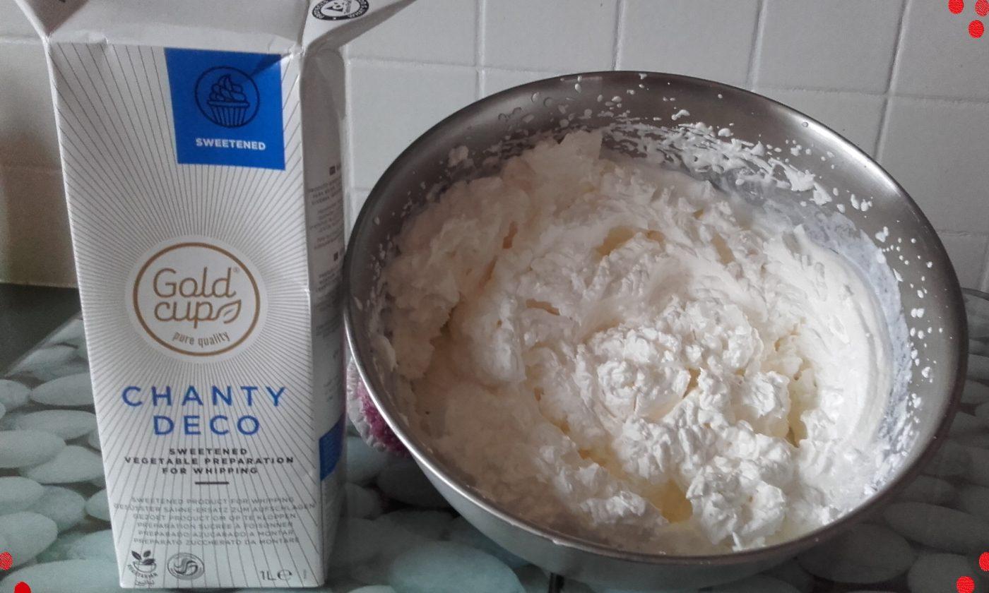 Astuce : Chantilly Originale !!! Crème Végétale + Sirop Monin