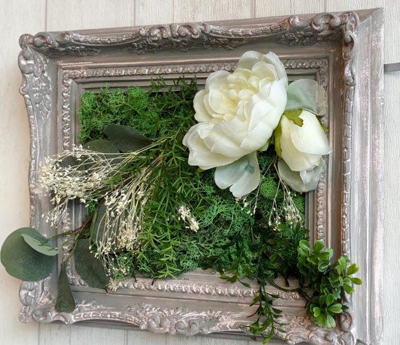 Mon joli cadre baroque végétal.