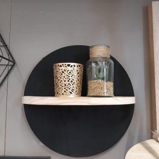 J'ai testé pour vous l'étagère ronde en bois