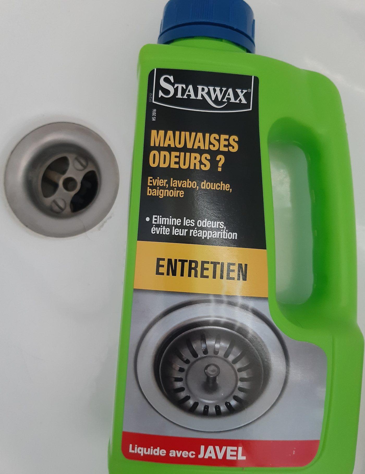 J'ai testé pour vous entretien canalisations Starwax  🚽🛁