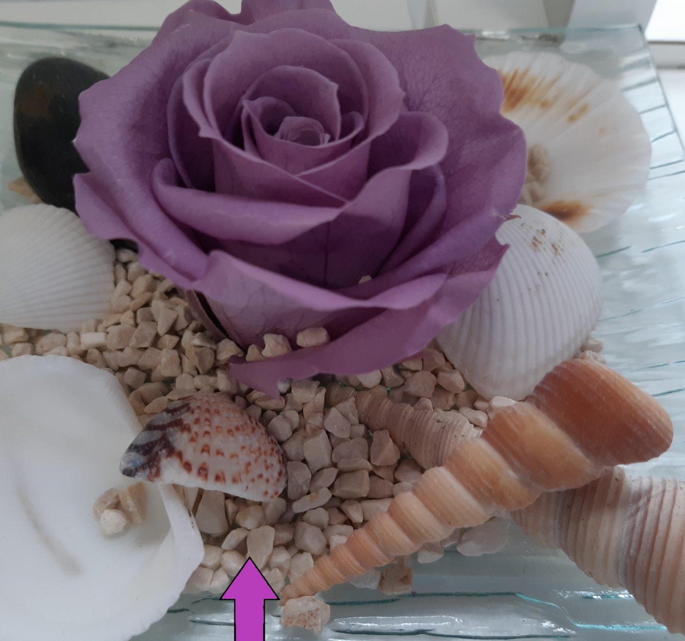 J'ai testé pour vous gravier décoratif marbre rosacolaro
