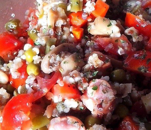 Salade au quinoa