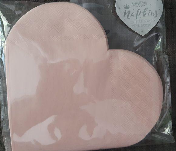 J'ai testé pour vous serviettes en papier forme cœur