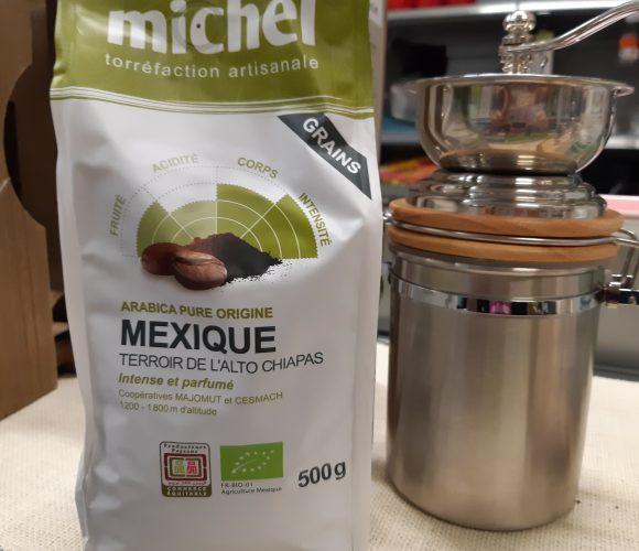 J'ai testé pour vous mon café Michel en grain du Mexique