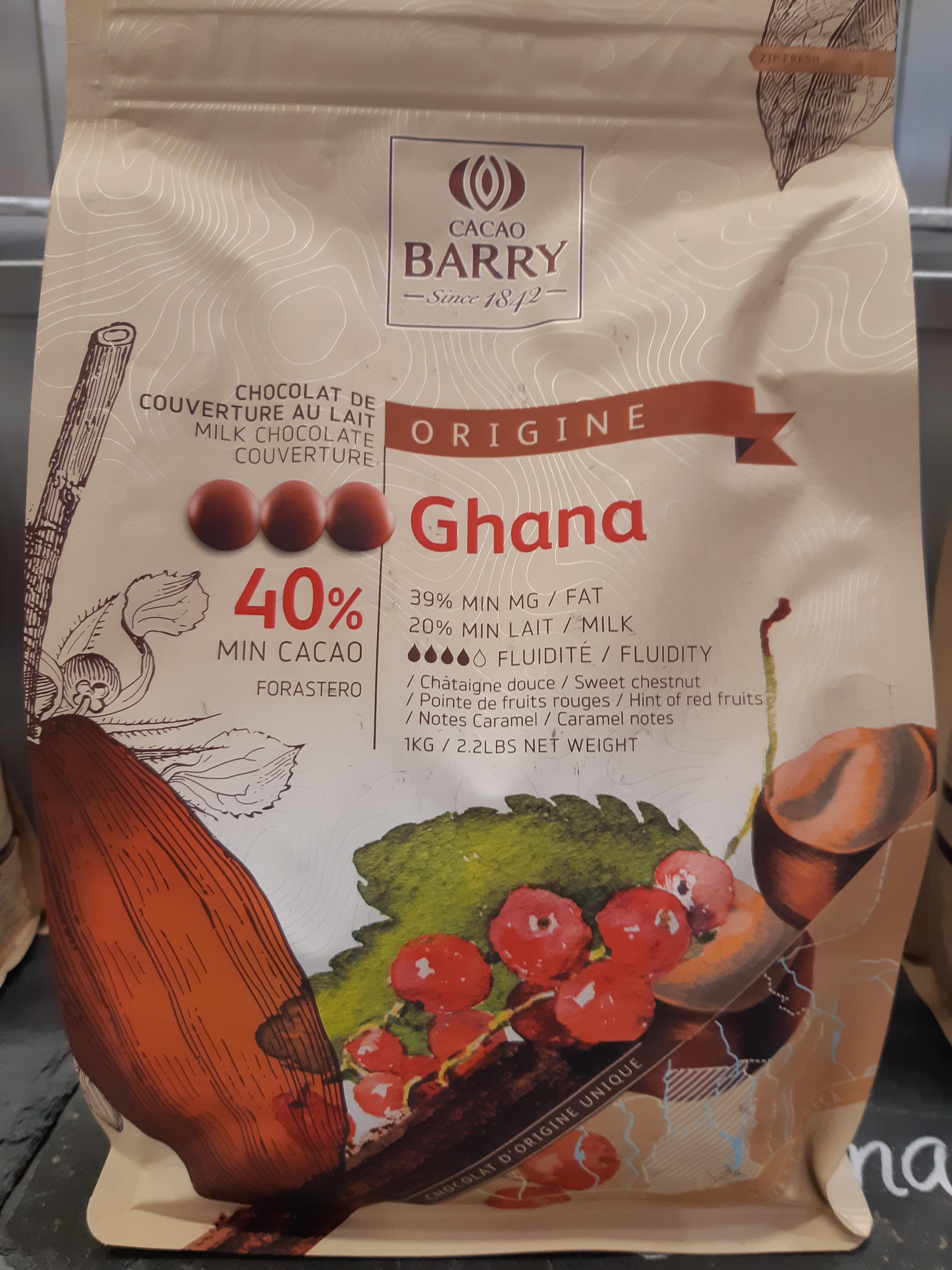 J'ai testé pour vous mon chocolat Ghana avec une pause mocha