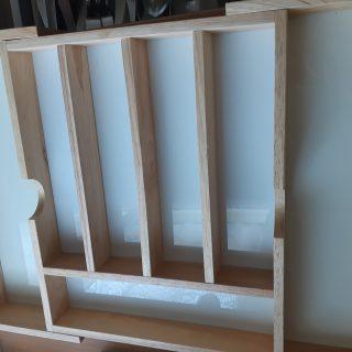 J'ai testé pour vous le séparateur de tiroir en bois extensible